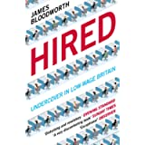 Hired: Six Months Undercover in Low-Wage Britain