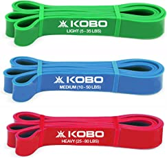 Power Resistance Band With Loop Aerobic Cardio & Exercise