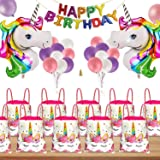 Fancydresswale Unicorn Birthday Party Return Gift for Kids (Pack of 12)