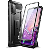 SUPCASE UB Pro Series Designed for Samsung Galaxy S20 Plus 5G Case, Built-in Screen Protector with Full-Body Rugged Holster &