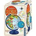KOSMOS 673024 Kinder-Globus, ab 5 Jahren, mit Beleuchtung, Durchmesser 26 cm, Lernspielzeug für Kinder und Deko fürs Kinderzi