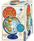 KOSMOS 673024 Kinder-Globus, ab 5 Jahren, mit Beleuchtung, Durchmesser 26 cm, Lernspielzeug für Kinder und Deko fürs…