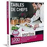 SMARTBOX - Coffret Cadeau Couple - Idée cadeau original - Expérience gourmande à deux : Dîner dans un restaurant gastronomiqu