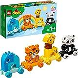 LEGO 10955 DUPLO Mijn Eerste Dierentrein met een Olifant, Tijger, Panda en Giraf, Bouwset voor Peuters van 1.5 Jaar en Ouder