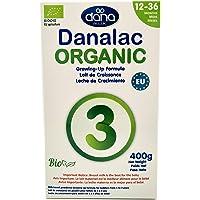 DANALAC Organic Latte in Polvere per la Crescita 400 gr Fase 3 Latte Artificiale per Lattanti e Bambini 1-3 Anni…