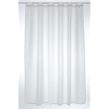300x 200cm Extra Wide Shower Curtain White