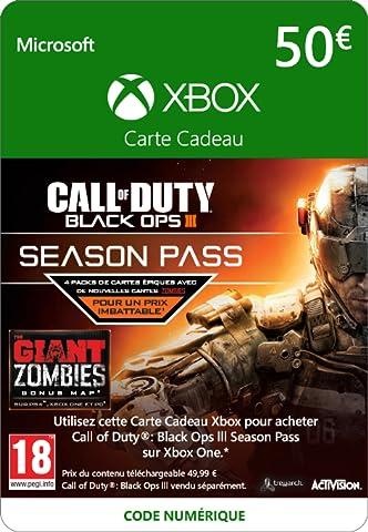 Call of Duty Black Ops 3 Season Pass [Extension De Jeu] [Code Digital - Xbox Live]