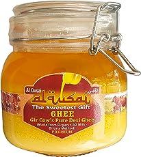 Al Qusai Ghee, 750ml, Gir Cow's Pure Desi Ghee(Made from Organic A2 Milk-Bilona Method)