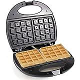 Sonashi 750W 2 Slice Non-Stick Waffle Maker SWM-873