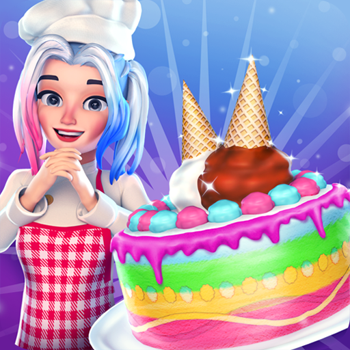 Rainbow Unicorn Ice Cream Bakery Shop -
