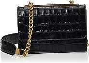 DKNY Women's Crossbody, Black/Gold - R93EPD92