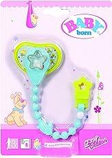 Zapf Creation Baby born 822050 Schnuller mit Schnullerkette (farblich sortiert)