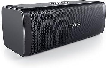 DOCKIN D Fine 50 Watt Stereo Hi-Fi Bluetooth Speaker - Lautsprecher mit Exzellentem Sound, starkem Akku für 10 Stunden Musikwiedergabe & PowerBank, Staub- und Wassergeschützt
