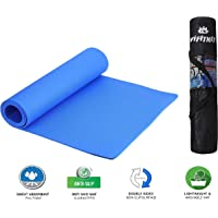 VIFITKIT® Yoga Mat Anti Skid EVA Yoga mat with Bag for Gym Workout and Flooring Exercise Long Size Yoga Mat for Men and Women
