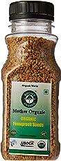 Mother Organic Fenugreek Seeds Bottle, 150g (Pack of 2)