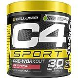 C4 Sport | polvere pre allenamento Mix di frutta | Integratore per uomini e donne | 135 mg caffeina + Beta-Alanina + Creatina