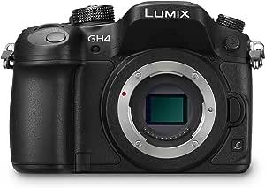 Panasonic DMC-GH4EG-K Lumix Fotocamera Digitale Compatta, Live MOS 16.05 MP,  Video 4K, WiFi, NFC, Mirino OLED