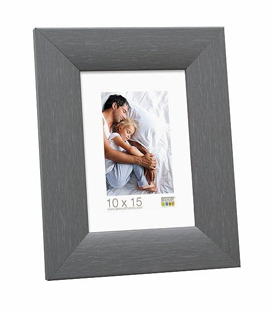 Deknudt Frames S53GF7 13x18 Bilderrahmen Grau, Maler Look Holz: Amazon.de:  Küche U0026 Haushalt