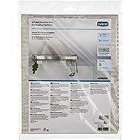 Xavax Filtre plat pour hottes aspirantes (2 filtres avec indicateur de saturation, découpage sur mesure, 47 x 57 cm…