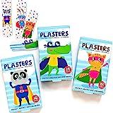 Super Poderes Tiritas Para Niños / Sin Látex / Hipoalergénicos / Lavables / Paquete de 2 x 16 unidades / Modelos Surtidos