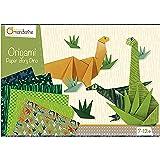 Avenue Mandarine -KC040C - Une Boîte Créative Origami Dinosaures