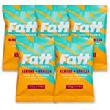 Fatt (aka Fattbar) Ketogenic Butter Cookies (Almond & Vanilla, 5-Pack) | New Name - Same Keto Cookie | 1.5g Carbs…