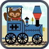 Juegos de tren para niños: Rompecabezas de Vagones de Ferrocarril del Zoológico HD - Libre