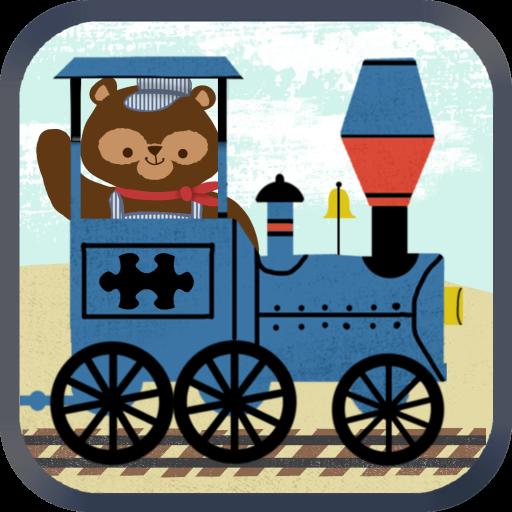 Zug-Spiele für Kinder: Zoo Eisenbahn Auto Puzzles HD - Kostenlos (Thomas-zug-vorschule)
