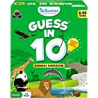 Skillmatics Guess in 10 Animal Kingdom   Card Game of Smart Questions   General Knowledge for Kids, Adults and Families…
