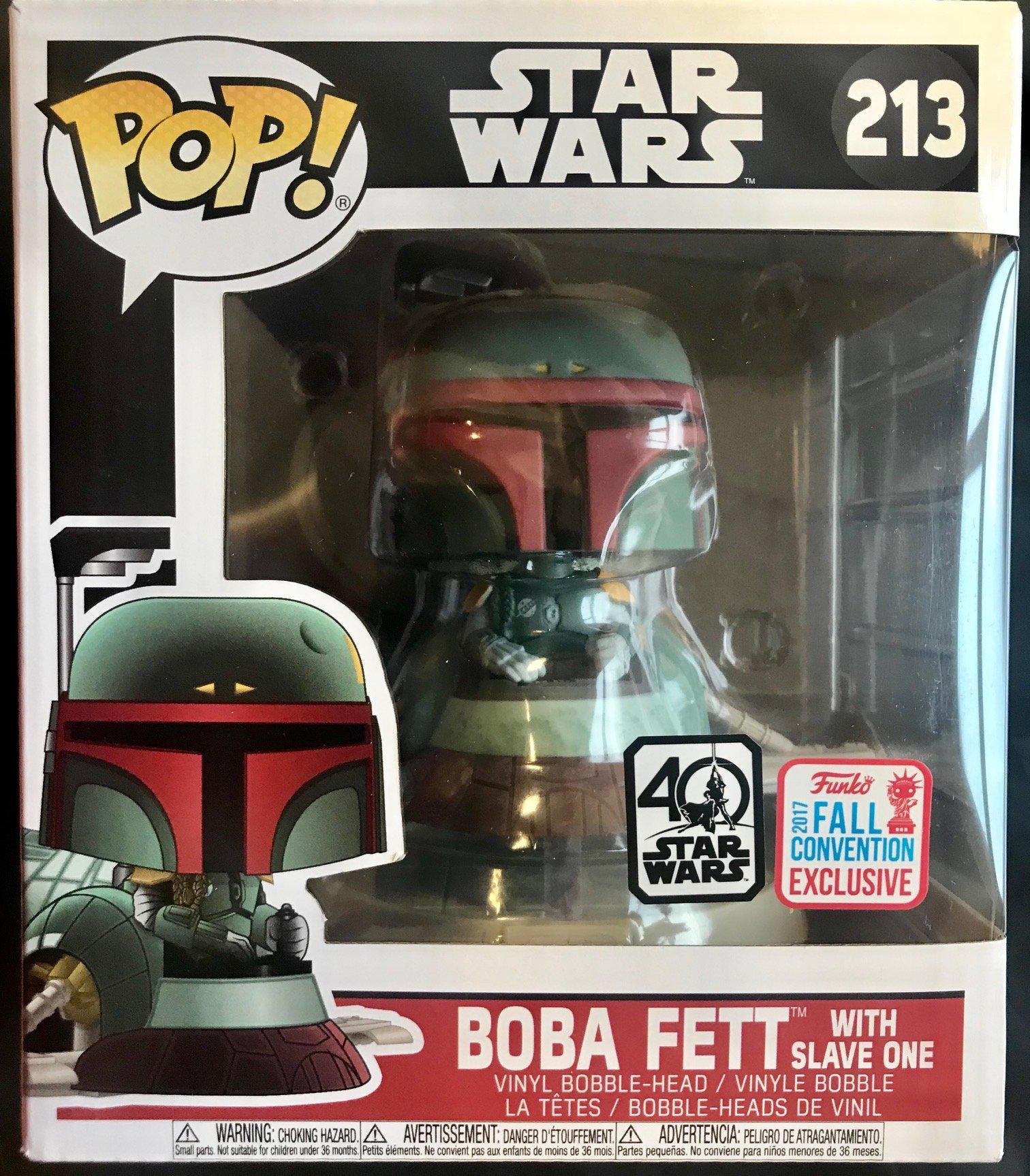 Funko Pop Boba Fett en Slave One (Star Wars 213) Funko Pop Star Wars