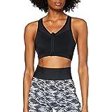 Amazon-Marke: AURIQUE Damen Sport-BH für mittleren Halt mit Reißverschluss