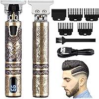 Haarschneidemaschine Profi, Haarschneider Herren Bartschneider Schnurloser mit LED-Display, Haartrimmer Barttrimmer…
