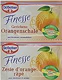 Dr. Oetker Finesse Natürliches Orangenschalen Aroma, 11er Pack (11 x 12 g)