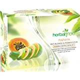 Herbal Tree Papaya Facial Kit For Lighten Skin Tone, & Improve Skin Clarity (420 g)