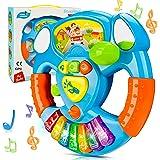 HOMCENT Baby Muziek Speelgoed, piano keyboard voor baby's 6 9 12 18 maanden, peuters, Preschool speelgoed voor kinderen van 1