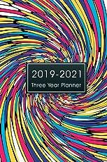2019-2021 Three Year Planner: Monthly Schedule Organizer, 36 Months Calendar Agenda Appointment Notebook, 3 Year Planner Calendar, Appointment ... Calendar Planner Diary Journal) (Volume 1)