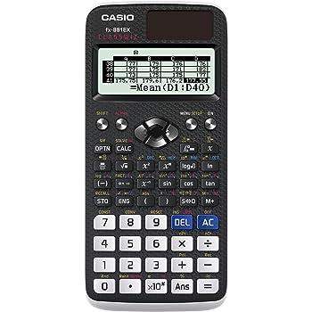 Casio FX-991EX-S-UH Scientific Calculator 552 Functions High Resolution LC Display - Black
