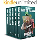The Legend of Dave the Villager Books 1–5 Illustrated: a collection of unofficial Minecraft books