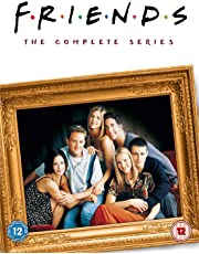 Friends: The Complete Series, includes Seasons 1 to 10 (40-Disc Box Set) (Slipcase Packaging + Fully Packaged Import) (Region 2)