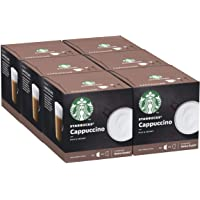 STARBUCKS Cappuccino by NESCAFE Dolce Gusto 6 x 12 capsules (72 caspsules, 36 tasses)