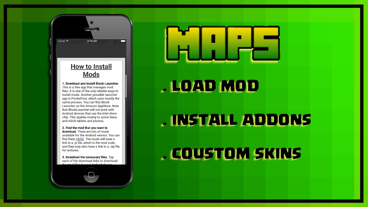 Maps MOD PE: Amazon co uk: Appstore for Android