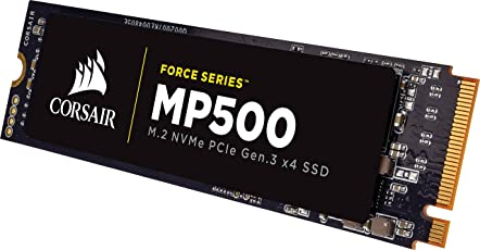 Corsair Force MP500 480 GB M.2 PCIe Gen. 3 x4 NVMe-SSD