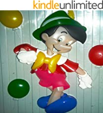 pinochio:illustration for kids: picture book for children,bedtime story