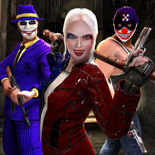 Survival Simulator Aktion 3D: Spannende Vegas Crime Mafia Gangster Criminal Attack Abenteuer spannendes Spiel kostenlos für Kinder 2018 ()