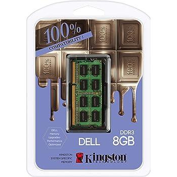 Kingston DDR3 8GB x 1 DELL Laptop 1600Mhz Ram DDR3-1600(PC3-12800) SO-DIMM Dual Rank 1.35V Low Voltage (KTD-L3CL/8GFR)