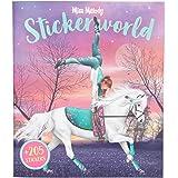 Depesche 11499 Miss Melody – klistermärkesvärld, klistermärkesalbum med 24 sidor fantastiska hästmotiv och 205 dekorativa kli