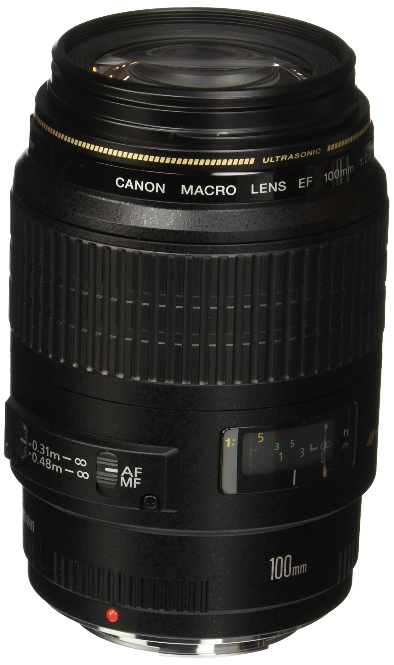 Canon EF 100mm 2.8 Macro USM - camera lenses (8/12, Auto/Manual, 7.5 cm, 24°, 7.9 cm, 5.8 cm)