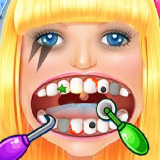Celebrity Dentist  - Crazy Little Kids Games Office HD (Shark Spiele Zombie)