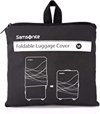 Samsonite Foldable Luggage Cover Medium, Black