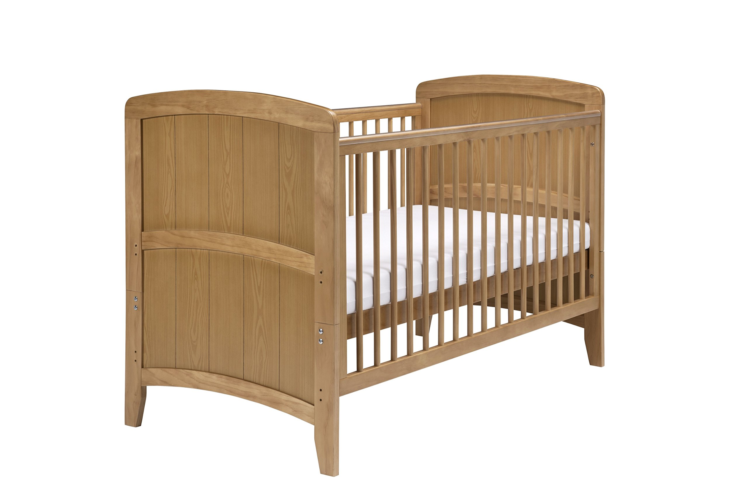 East Coast Nursery Venice Cotbed (Antique) East Coast Nursery Ltd 2 protective teething rails 2 fixed sides 2 split ends to convert to bed mode 1